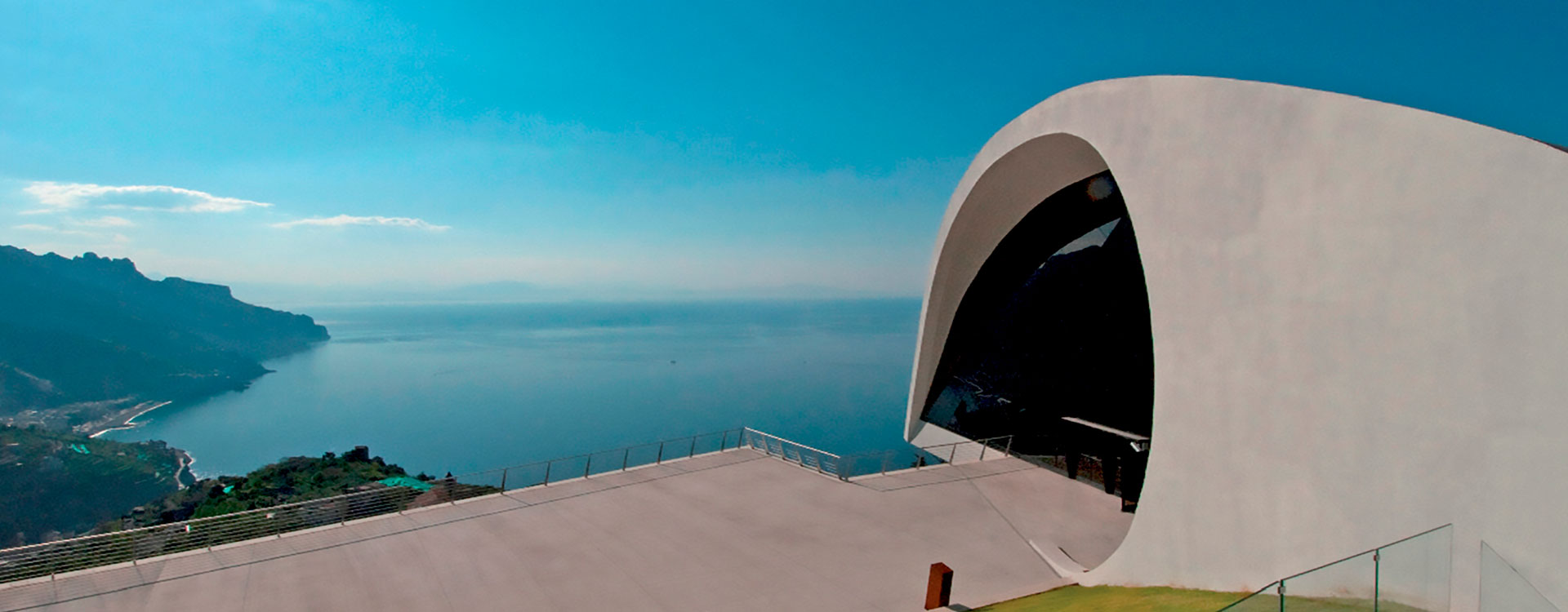 OSCAR NIEMEYER AUDITORIUM  IN RAVELLO CONCERTS