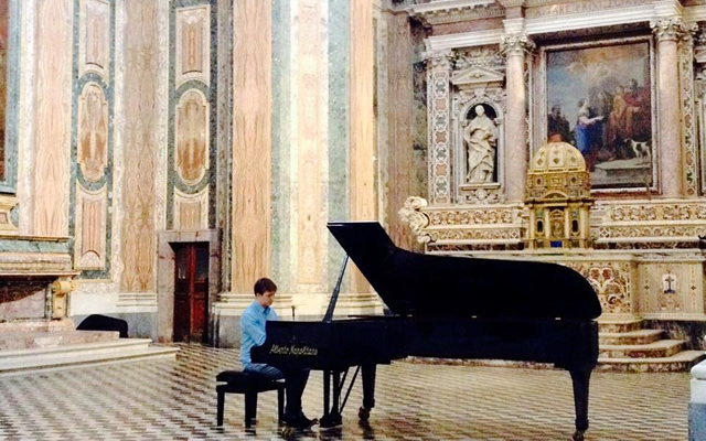 FederiPiano: free concerts from the Federico II University of Naples