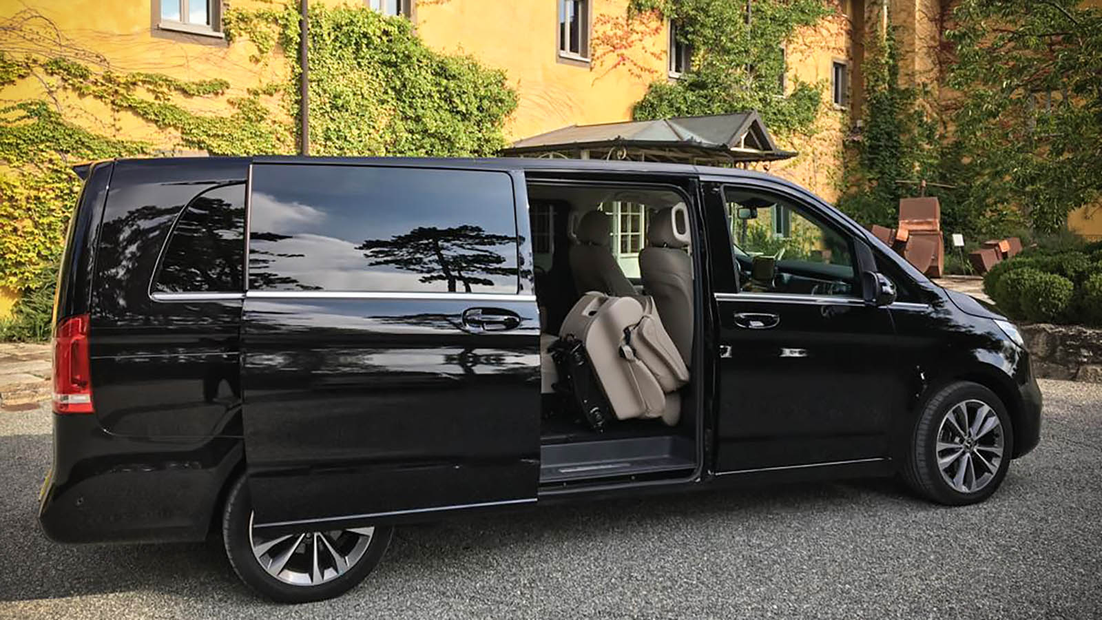 car service from rome to capri